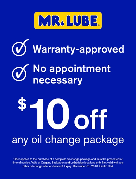 $10 off an oil change