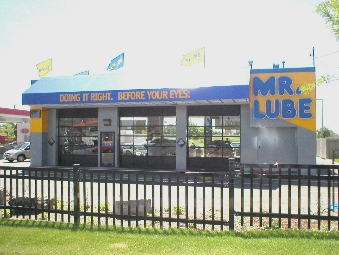how to get an oil change at mr lube